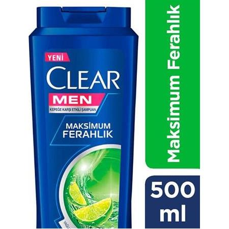 Clear Men Maksimum Ferahlık Şampuan 500 ml